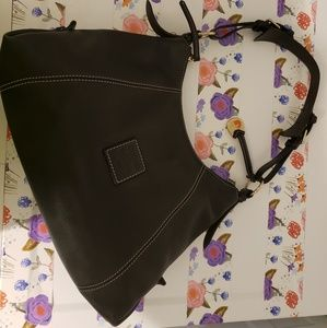 Authentic Dooney & Bourke Saffiano Leather Bag